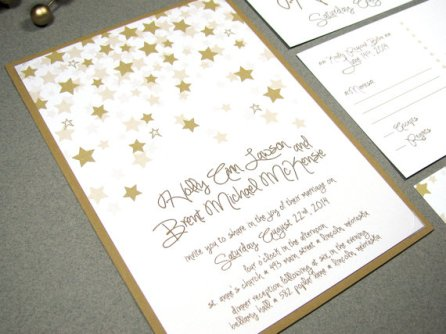 Wedding invitation, by RunkPockDesigns on etsy.com