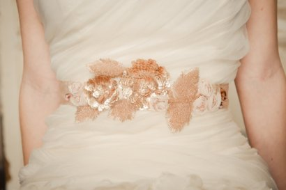 Bridal sash, by CamillaChristine on etsy.com