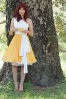Bridesmaid dress, by CoralieBeatrix on etsy.com