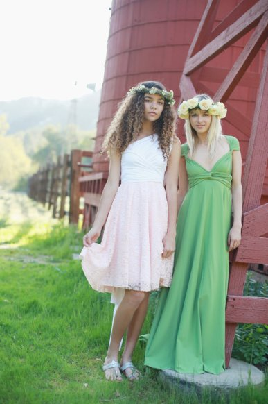Bridesmaid dresses, by CoralieBeatrix on etsy.com