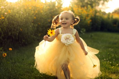 Flower girl tutu dress, by lauriestutuboutique on etsy.com