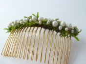 Hair comb, by NyeDesigns on etsy.com