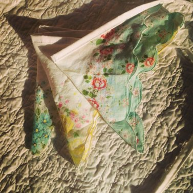 Handkerchief bunting, by OhsyDee on etsy.com