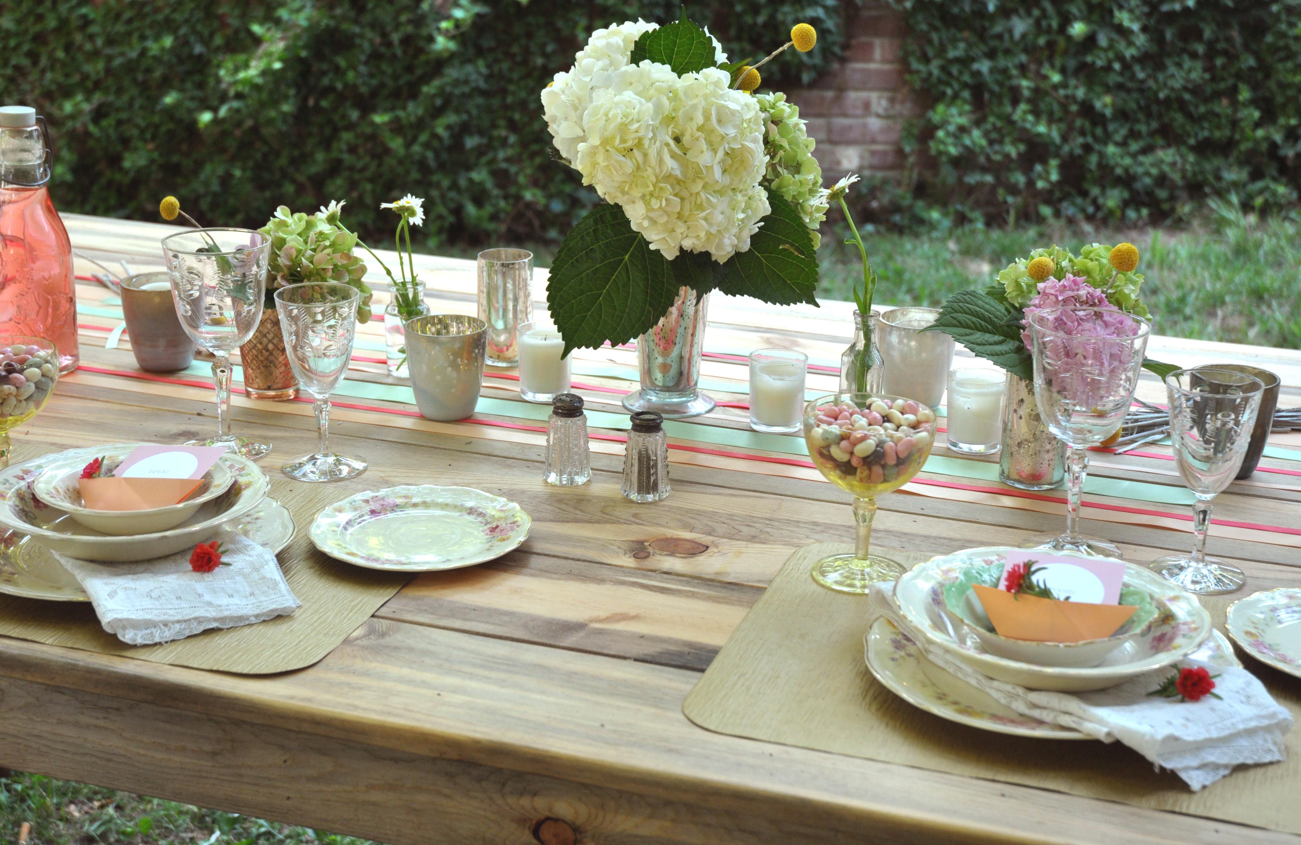 Table Setting Idea Via The Merry Bride