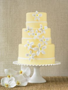 Wedding cake idea {via bridalguide.com}