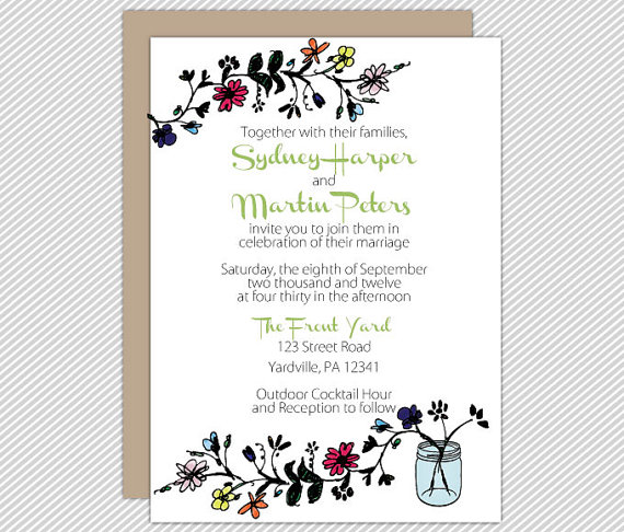 Backyard Wedding Ideas The Merry Bride