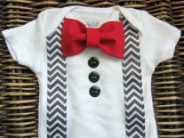 Baby boy wedding outfit, by SewLovedBaby on etsy.com