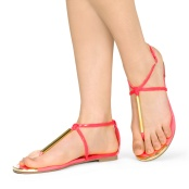 Bridesmaid beach sandals, from heels.com