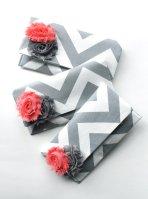 Bridesmaid clutch purses, by allisajacobs on etsy.com