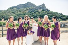 Bridesmaid convertable dresses, by thejerseymaid on etsy.com