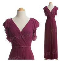 Bridesmaid dress, by NoviaDress on etsy.com