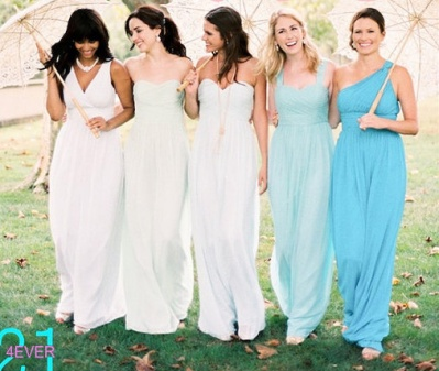 Bridesmaid dresses, by 214EVER on etsy.com