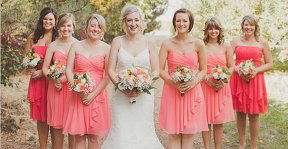 Bridesmaid dresses, by harsuccthing on etsy.com