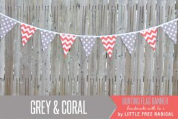 Bunting, by LittleFreeRadical on etsy.com