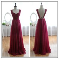 Burgundy bridesmaid dress, by FreePeoples on etsy.com