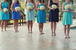 Convertable bridesmaid dresses, by StaysiLee on etsy.com