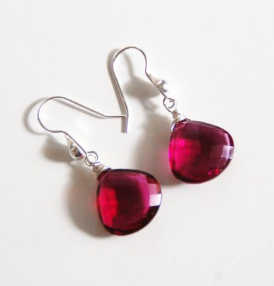 Earrings, by ferozasjewelery on etsy.com