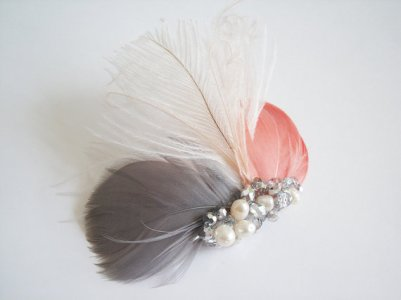 Fascinator, by CorrineONeill on etsy.com