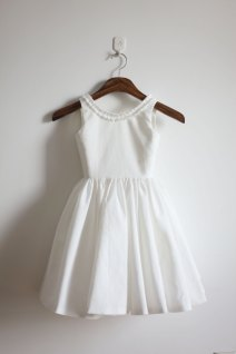 Flower girl dress, by autoalive on etsy.com