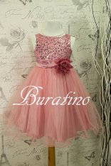 Flower girl dress, by BURATINOBOUTIQUE on etsy.com