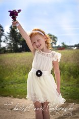 Flower girl dress, by DLilesCollection on etsy.com