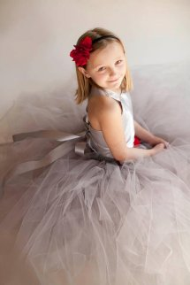 Flower girl dress, by HippityHootNotion on etsy.com