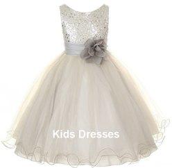 Flower girl dress, by kidsdresses on etsy.com