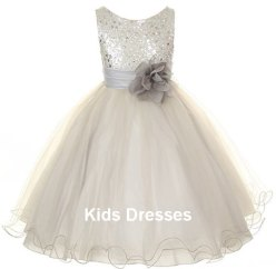 Flower girl dress, by kidsdresses on etsy.com