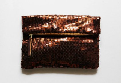 Foldover clutch purse, by CoralsandNuts on etsy.com