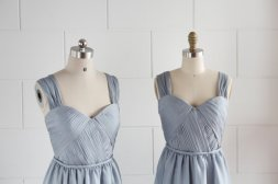 Full-length bridesmaid dresses, by misdress on etsy.com
