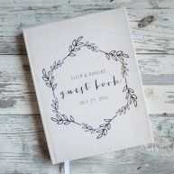 Guest book, by starboardpress on etsy.com