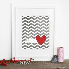 Heart print, by hairbrainedschemes on etsy.com