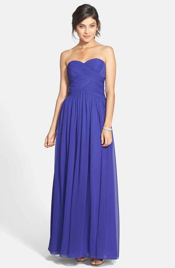 JS Boutique bridesmaid dress, from nordstrom