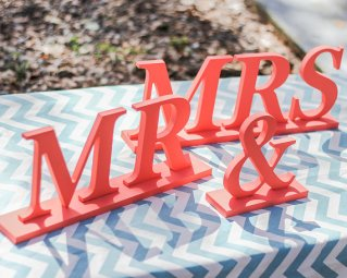 Mr and Mrs sign, by ZCreateDesign on etsy.com