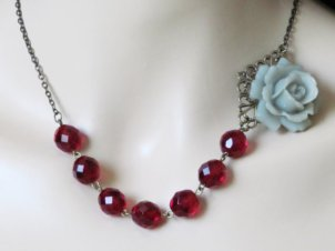Necklace, by AdornmentsbyDebbie on etsy.com