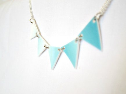Necklace, by CitiesAndClouds on etsy.com