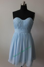 Pale blue bridesmaid dress, by SpecialDayDress on etsy.com