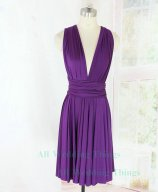 Purple bridesmaid dress, by allweddingthings on etsy.com
