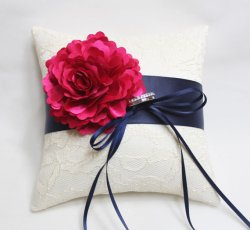 Ring pillow, by mirino on etsy.com
