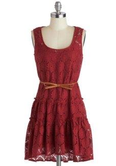 Rustic bridesmaid dress, from modcloth.com