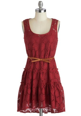 Rustic bridesmaid dress, from modcloth.com