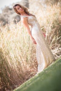 Sequin wedding dress, by whiteromance on etsy.com