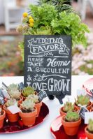 Succulent wedding favours {via weddingwire.com}