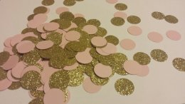 Table confetti, by SignsationalSayings on etsy.com