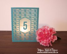 Table number, by MasonRabbitsPaperie on etsy.com