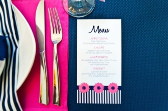 Table setting idea {via bridesofadelaide.com.au}