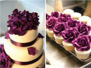 Wedding cake and cupcake inspiration {via bellethemagazine.com}