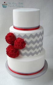 Wedding cake inspiration {via cakesdecor.com}