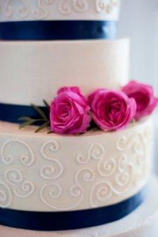 Wedding cake inspiration {via yelp.com}