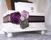 Wedding card box, by itsmyday on etsy.com